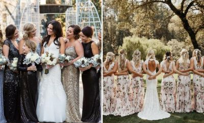 Most Beautiful Bridesmaid Dresses for Spring