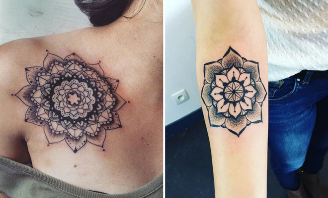 ca6a67ee7 21 Trendy Mandala Tattoo Ideas for Women | Page 2 of 2 | StayGlam