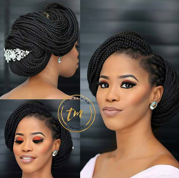 Wedding Hair Style Weave: 25 Braid Hairstyles With Weave That Will Turn Heads
