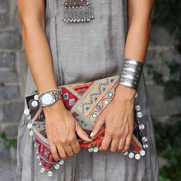 Bohemian Trend for Spring 2017 Women's Outfit Idea