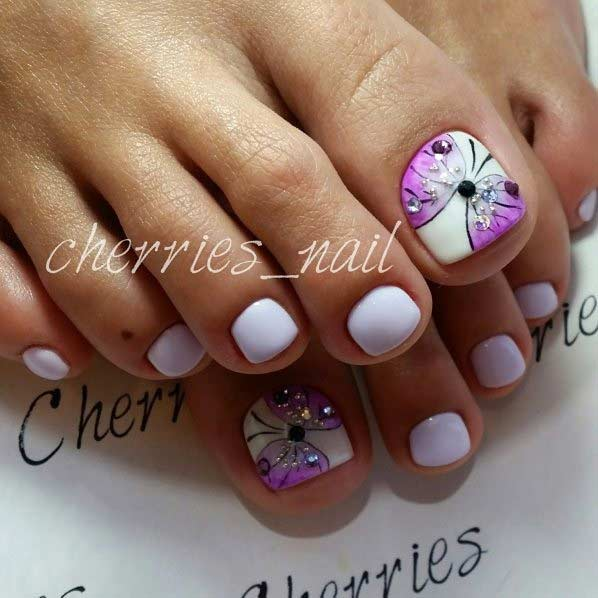 25 Eye Catching Pedicure Ideas For Spring Page 2 Of 3 Stayglam