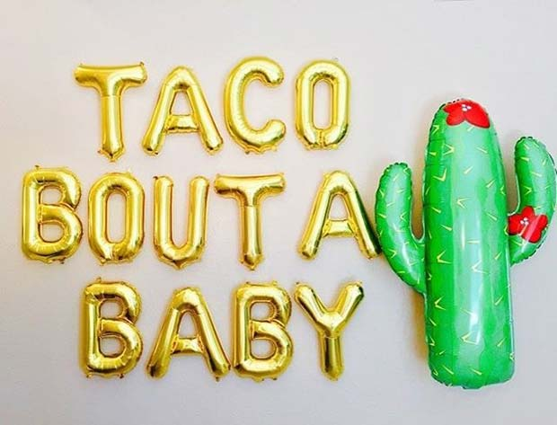 Mexico Theme for Baby Shower