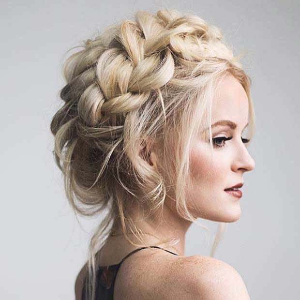 braided prom hair styles 21 beautiful hair style ideas for prom stayglam 4903