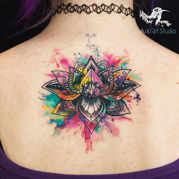 21 Trendy Mandala Tattoo Ideas for Women | StayGlam