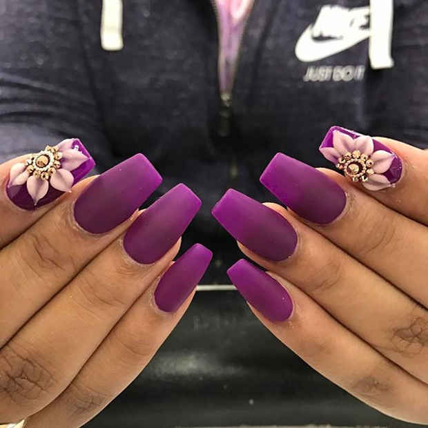 21 Gorgeous Floral Nail Designs for Spring | Page 2 of 2 | StayGlam