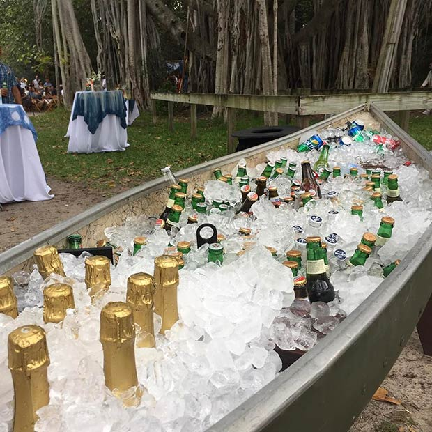 Boat Bar for Spring and Summer Weddings