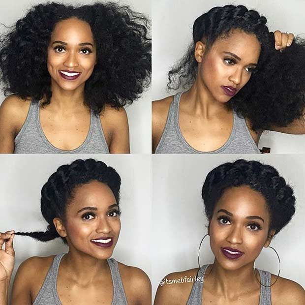step by step natural hair styles 21 chic and easy updo hairstyles for hair stayglam 4363 | voiceofhair 16230161 632236196978733 4130262739081756672 n