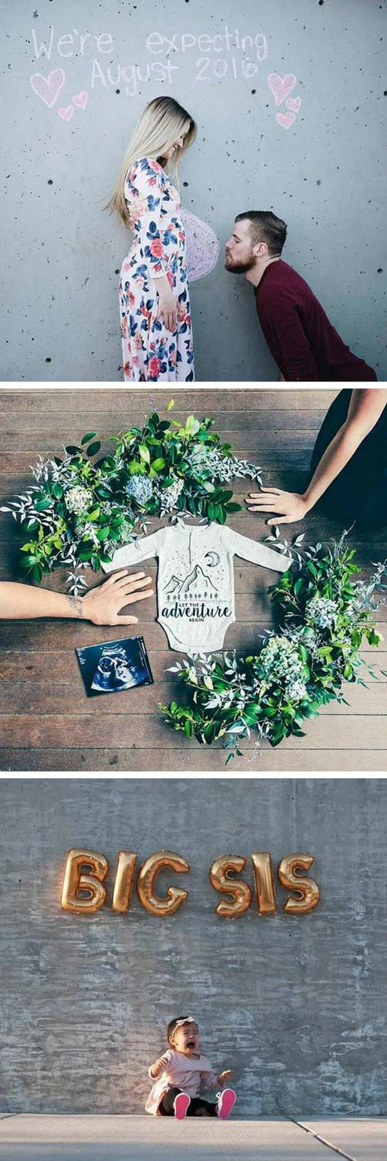 Cute Pregnancy Announcement Ideas
