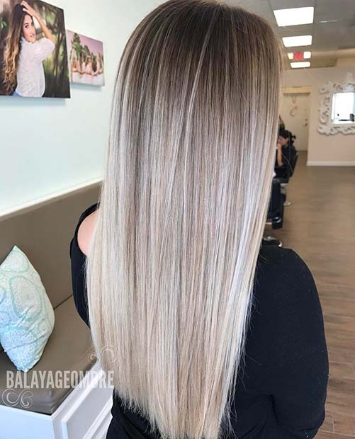 21 Chic Blonde Balayage Looks For Fall And Winter Page 2
