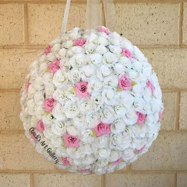 Floral Pinata for Bridal Shower Game