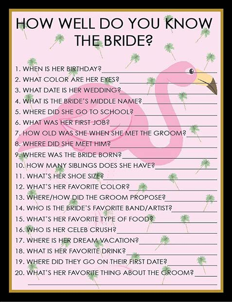 41 Bridal Shower Games and Ideas Your Guests Will Love | Page 2 of ...