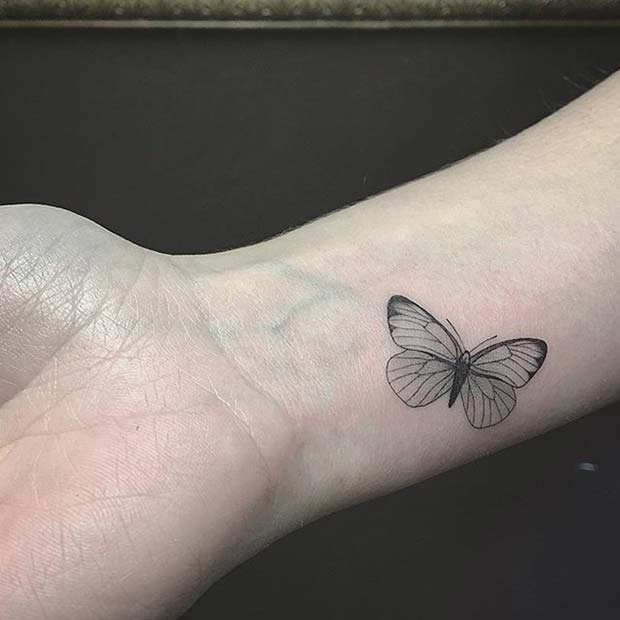 Butterfly Tattoo Idea for Women
