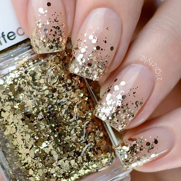 23 gorgeous glitter nail ideas for the holidays stayglam