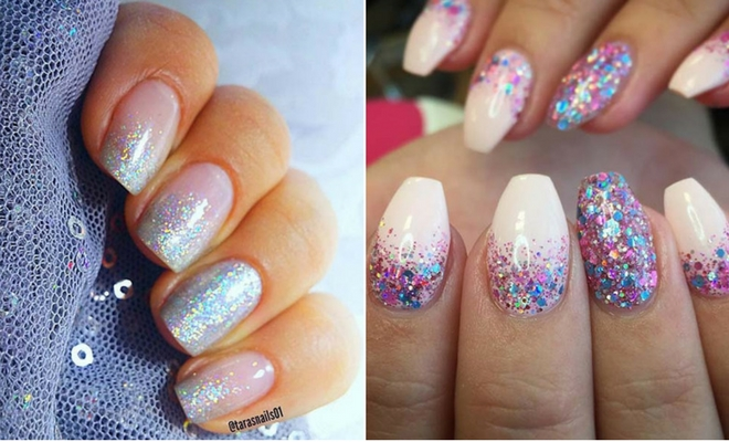Instagram - 23 Gorgeous Glitter Nail Ideas For The Holidays StayGlam