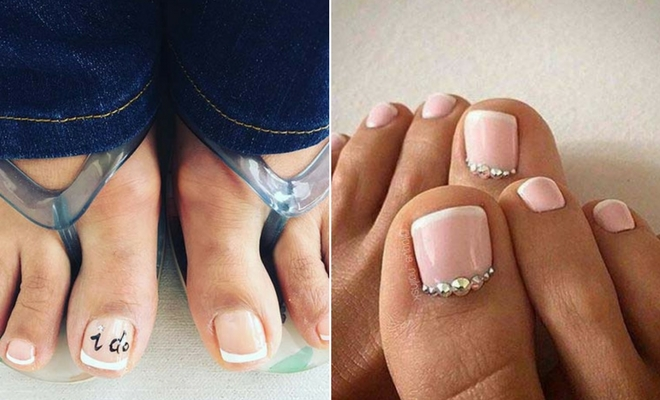 21 Beautiful Wedding Pedicure Ideas For Brides Stayglam