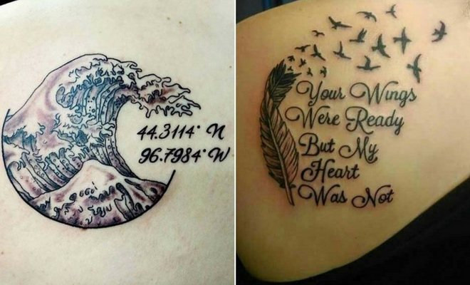 23 Emotional Memorial Tattoos to Honor Loved Ones | StayGlam