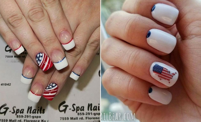 21 Funky And Fun 4th Of July Nail Designs