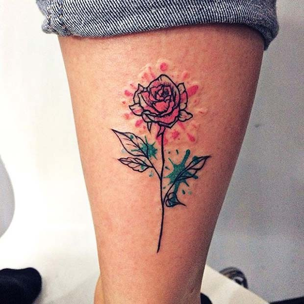 21 Beautiful Rose Tattoo Ideas For Women Page 2 Of 2 Stayglam