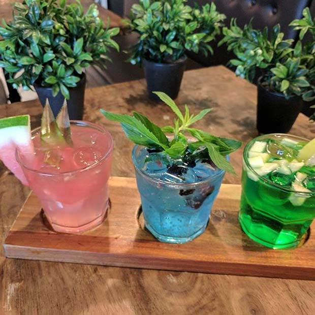 Colorful Cocktail Trio for Fruity Summer Cocktail Ideas for Women