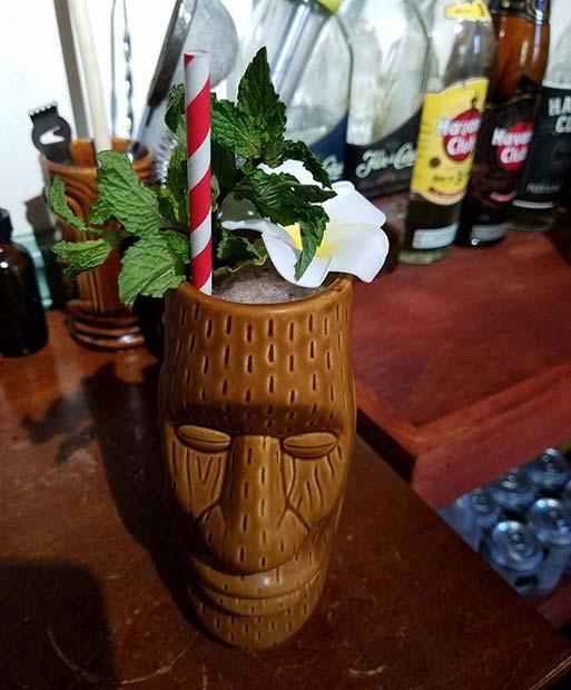 Tiki Fruity Summer Cocktail Idea for Women