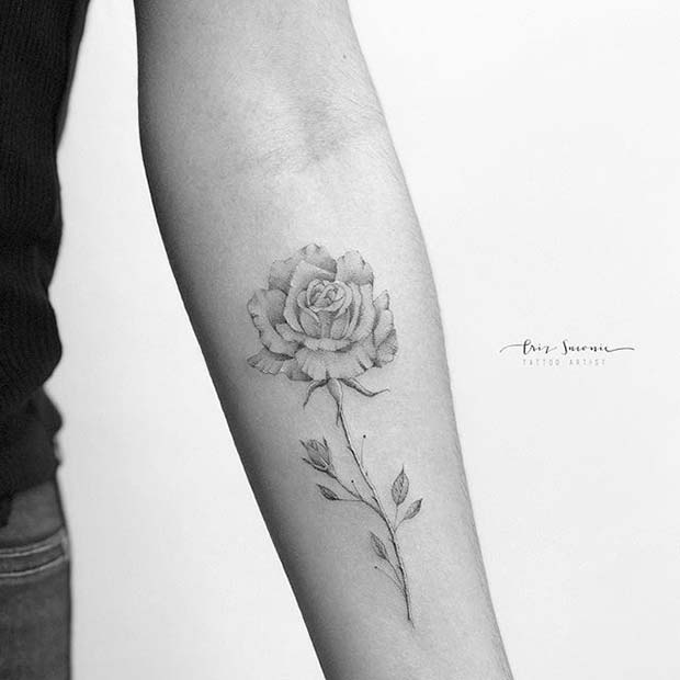 Beautifully imperfect tattoo