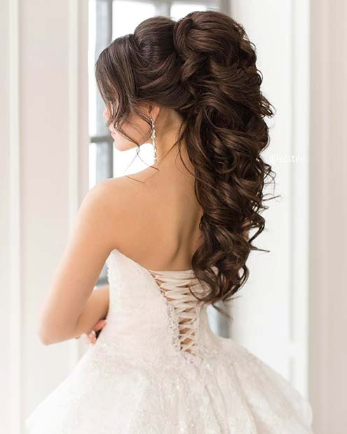 up styles for hair for weddings 23 gorgeous half up wedding hair ideas crazyforus 9081