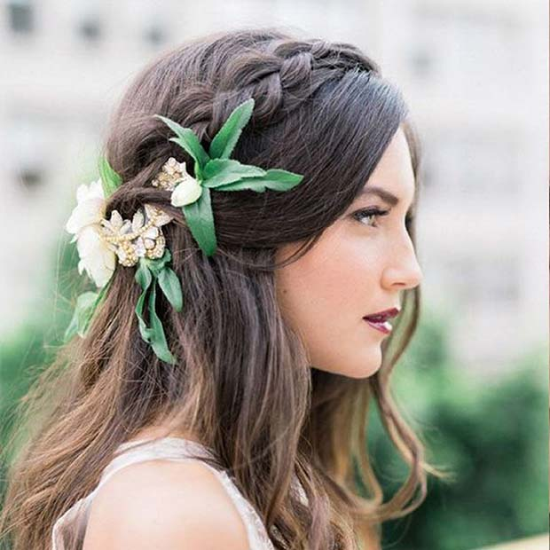 23 Gorgeous Half Up Wedding Hair Ideas | Page 2 of 2 | StayGlam