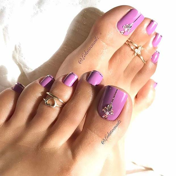 Nail Salons And Trendy Hair: 21 Beautiful Wedding Pedicure Ideas For Brides