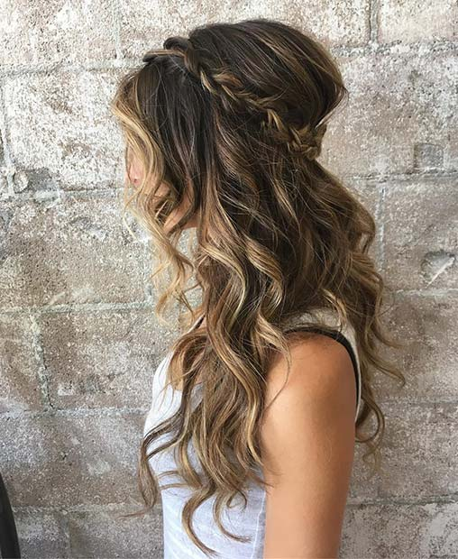 Half Up Wedding Hair Ideas: 23 Gorgeous Half-Up Wedding Hair Ideas