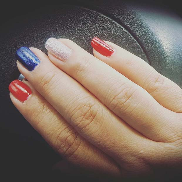 21 Funky And Fun 4th Of July Nail Designs Page 2 Of 2 Stayglam
