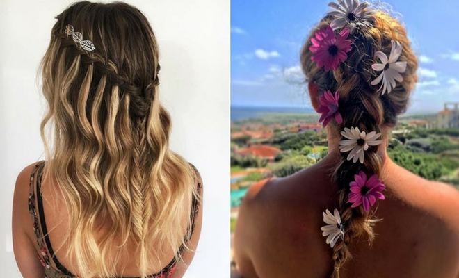Cute Hair Styles With Braids: 41 Cute Braided Hairstyles For Summer 2019