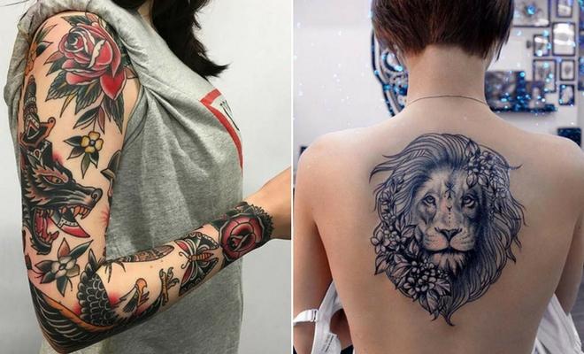 43 Badass Tattoo Ideas For Women Stayglam