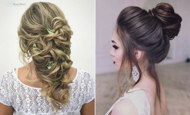 hair style bridesmaid 23 and beautiful bridesmaid hair ideas stayglam 2972 | Untitled design 33