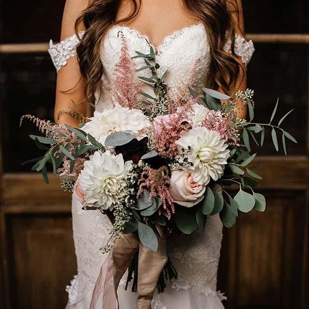 Beautiful Off the Shoulder Wedding Dress for Summer Wedding Dresses for Brides