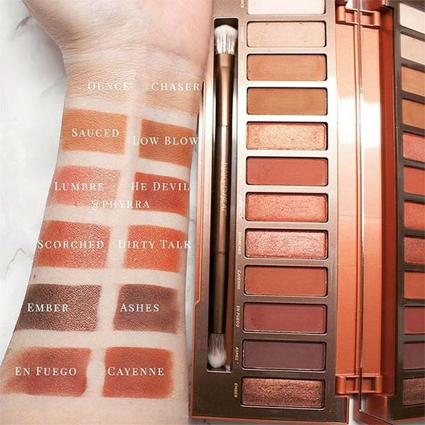 Urban Decay Naked Heat Palette for Hot Makeup Products You Need This Summer