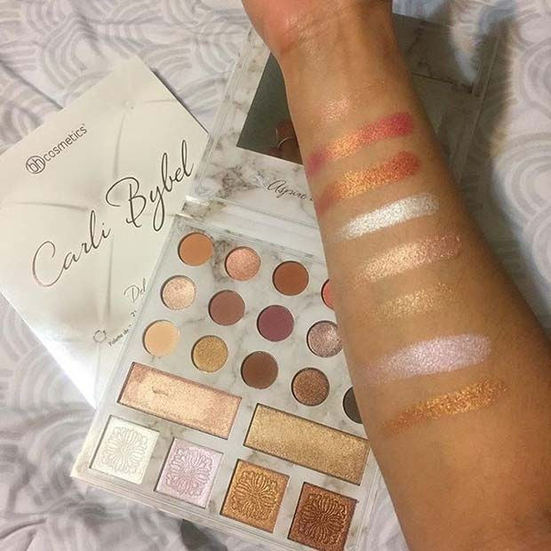 Carli Bybel Deluxe Edition Palette Hot Makeup Products You Need This Summer