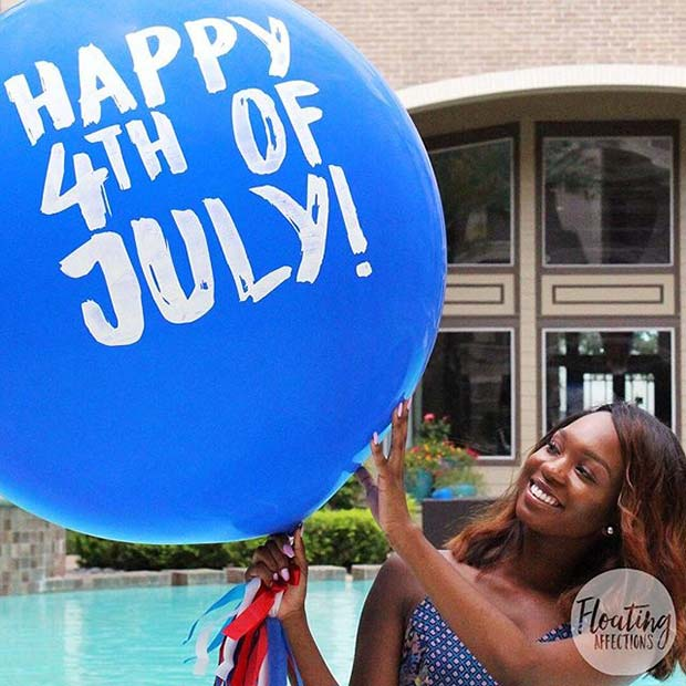 4th of July Balloons for 4th of July Party Ideas