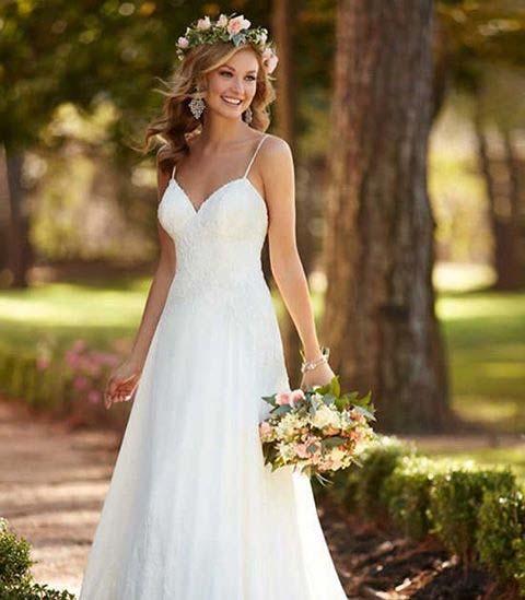 Stunningly Simple Dress for Summer Wedding Dresses for Brides
