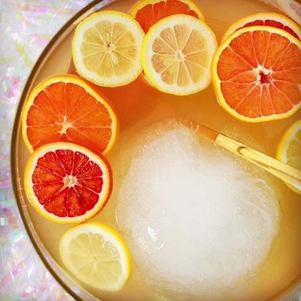 Citrus Punch for Girly and Delicious Summer Cocktails