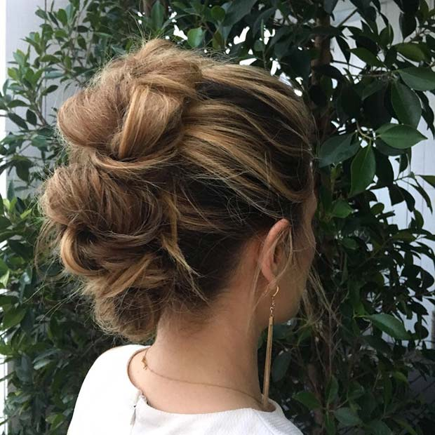 Braided Mohawk for Bridesmaid Hair Ideas