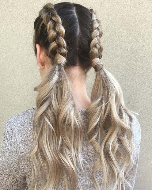 21 Cute Braided Hairstyles For Summer 2018 Stayglam