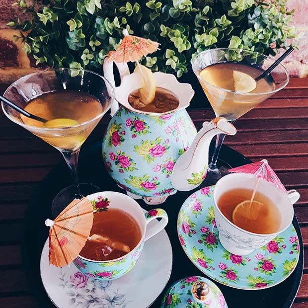 Teapot Cocktails for Girly and Delicious Summer Cocktails