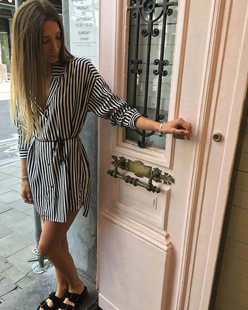Shirt Dress for Casual Summer Outfits