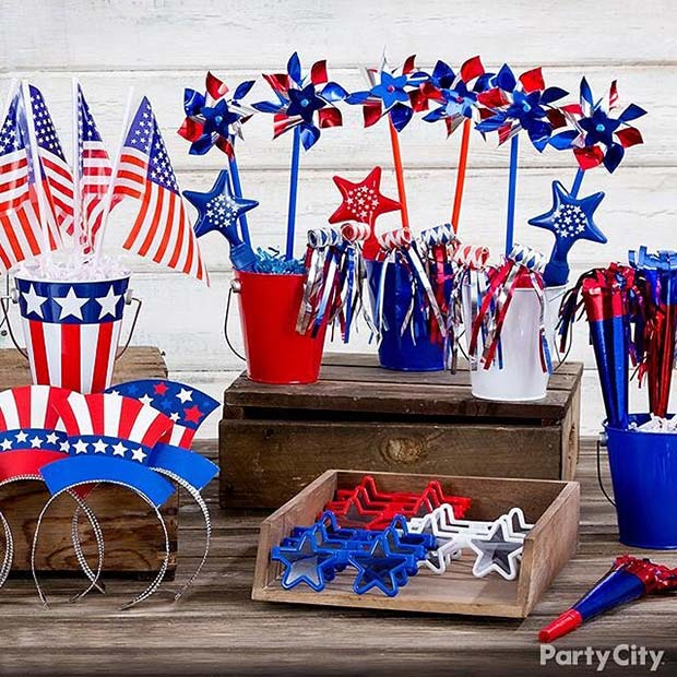4th of July Party Props for 4th of July Party Ideas