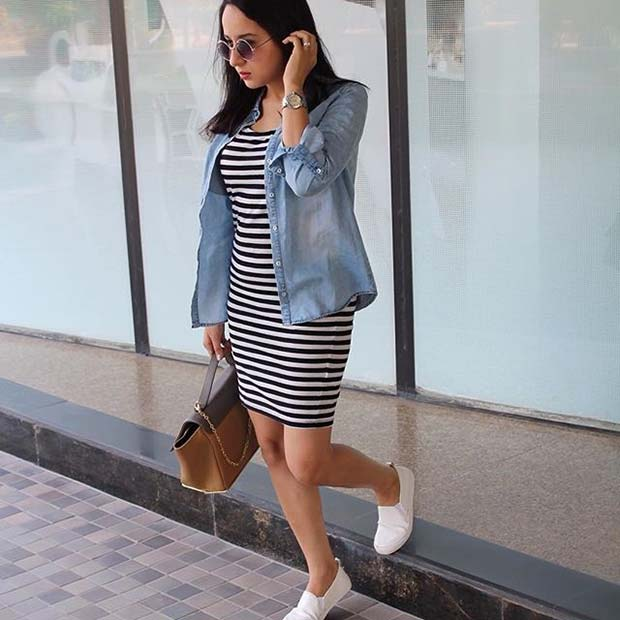 Casual Dress and Shirt for Casual Summer Outfits