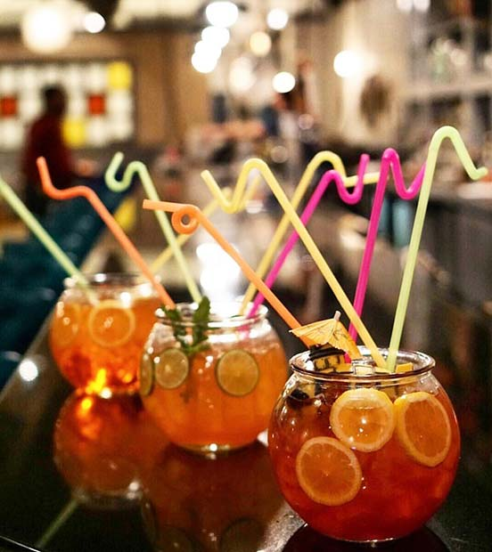 Multi Fishbowl Cocktails for Summer Cocktails for a Crowd