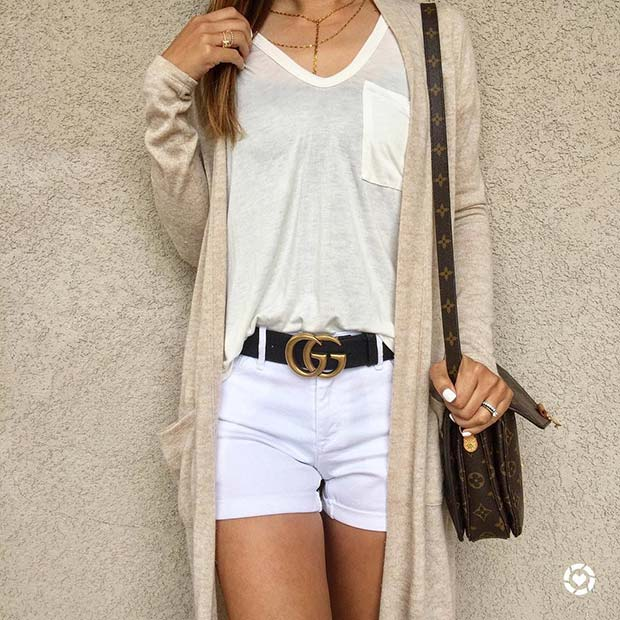 Neutral Palette for Casual Summer Outfits