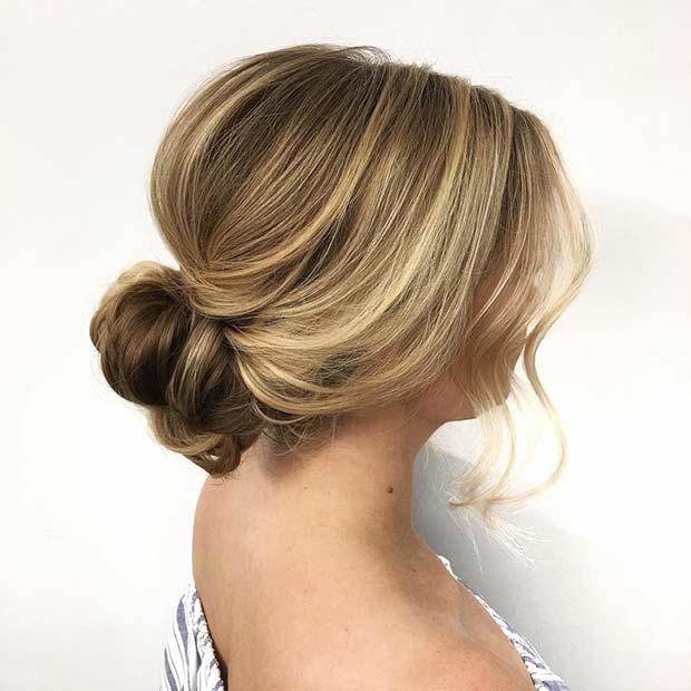 Loose Romantic Updo for Bridesmaid Hair Ideas