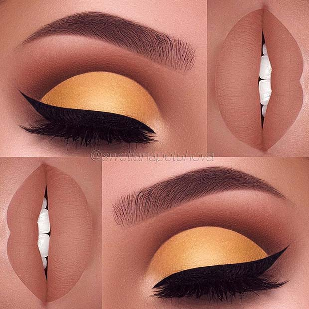 Sunshine Yellow for Summer Makeup Ideas