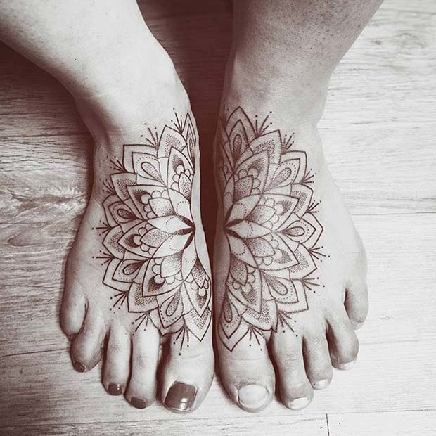 Unique Half Tattoos for Sister Tattoos